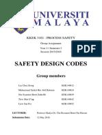 Safety Design Code