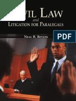 Civil Law Litigation for Paralegals