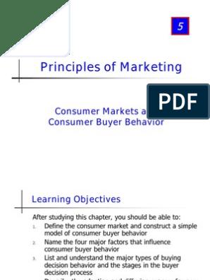 Intro Buying Desicion Process Business Consumer Behaviour