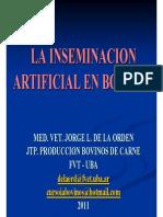 Inseminacion Artificial en Bovinos