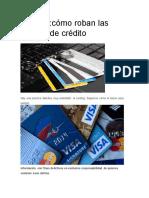 Carding Cómo Roban Las Tarjetas de Crédito