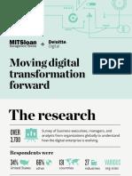 Moving Digital Transformation Forward
