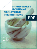 Quality and Safety in Compounding Non-Sterile Preparations
