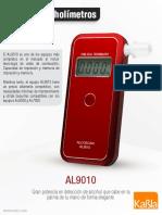 Alcoholimetro Con Impresora Khp-Al9010