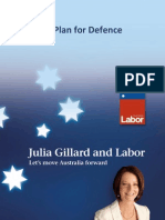Labor Defence Plan Fact Sheet