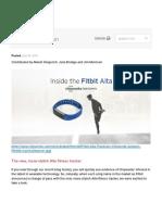 Fitbit Alta Teardown