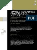 ESTRATÉGIAS CONTEMPORÂNEAS DO STORYTELLING PARA MÚLTIPLAS TELAS