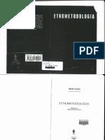SOCIO III - AULA 11_Coulon - Etnometodologia