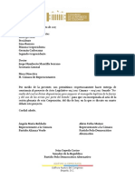 CONSTANCIA | Constancia AL Prohibición de Paramilitarismo