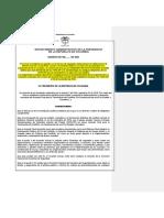 DECRETO | Decreto Garantiìas y Mecanismos de Seguridad