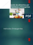 Presentacion Metodos de conservacon  Quimicos y Emergentes