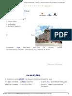 5 Curso Gratis de Portugués Básico Para Hispanoparlantes - Profissões - Verbo Estar _ AulaFacil
