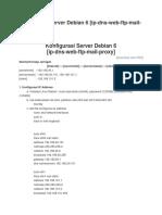 Konfigurasi Server Debian 6