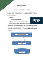 Banco de Dados Inicial
