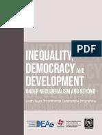 Libro Democracia y Desigualdades CLACSO SUR-SUR 2014