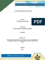 evidencia 10 ensayo TIC´S y trazabilidad de la cadena DFI