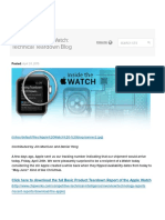 Inside the Apple Watch- Technical Teardown Blog.pdf