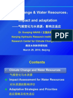 Climate Change & Water Resources