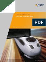 PDT 20091014 Brochure Track Bed Mats En