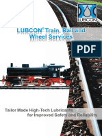 LUBCON Train Rail and Wheel - Eng