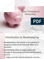 Basic Principles of Accounting