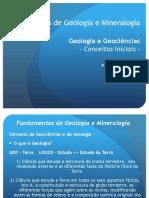 Geologia y Mineralogia