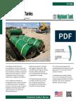 HT-1089 Underground Steel Storage Tanks
