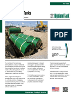 HT-1089 Underground Steel Storage Tanks