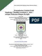 Karya Ilmiah Pemanfaatan Limbah Kulit Singkong sebagai Makanan Ringan Keripik.docx