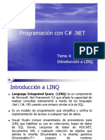Tema 4 Introducción a LinQ