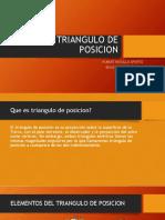 Triangulo de Posicion