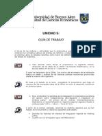Guía Unidad 5