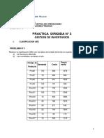 Práctica dirigida N° 3 Inventarios