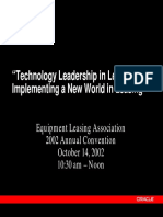Technology Leadership in Lsg Thacker