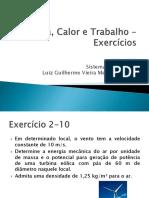 9. Energia, Calor e Trabalho Exercícios