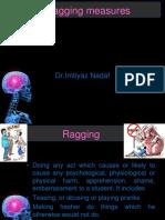 3. Anti-ragging Measures