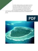 ATOLÓN Un Atolón Es Una Isla Coralina Oceánica