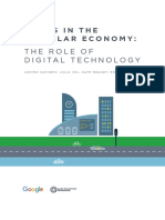 Cities in the Circular Economy the Role of Digital Technology