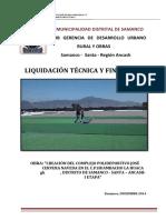 LQ_ HUAMBACHO La Huaca- Polideportivo Jose Cervera Naveda