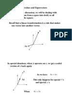 Eigenvalues and Eigen Vector Slides