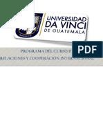 Programa de Relaciones y Cooperación Internacional