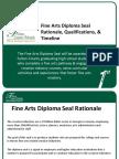 fy 18 fcs fine arts diploma seal time line