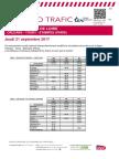 Axe l - Info Trafic Orleans-Toury-etampes (Paris) Du 21 09 2017 v1