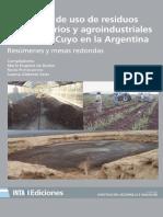I Simposio de Uso de Residuos Agropecuarios y Agroindustriales Del NOA y CUYO en La Argentina