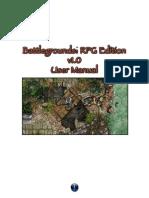 BRPG User Manual