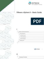 SVTECH Internal Training Postsale VMware VSphere 6 v1.3
