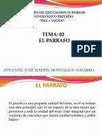 Tema 2 El Parrafo Lenguaje