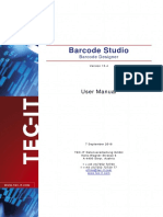 Barcode Studio 15 Manual En