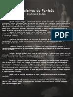 Tormenta RPG - Cavaleiros Do Panteão - Cavaleiros Do Zodíaco