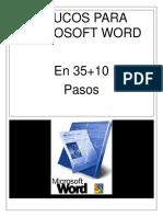 35+10 Trucos para Microsoft Word